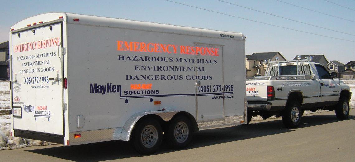 Hazmat truck & trailer pics