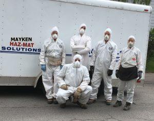 hazardous materials classification - Mayken Hazmat Solutions Ltd. cleanup crew