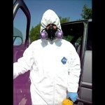 Preparing for Cleaning Up Hoarding Homes Wearing Personal Protection Clothing