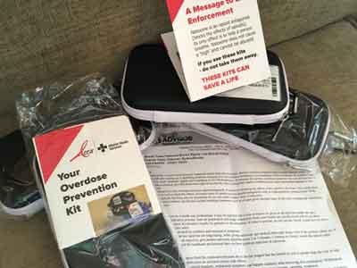 Naloxone Overdose Prevention Kit For Fentanyl House Remediation