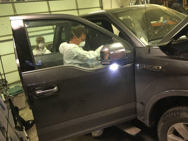 Vehicle Decontamination after theft recovery