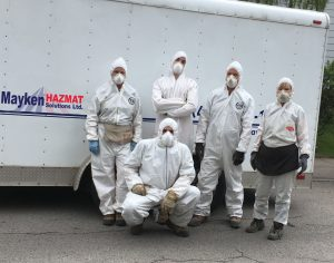Mayken Hazmat Solutions Team Members
