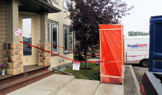 Residence taped off for fentanyl exposure